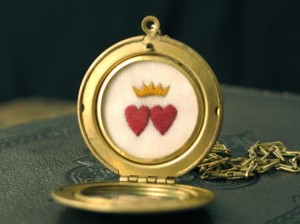 Wedding Keepsake Locket