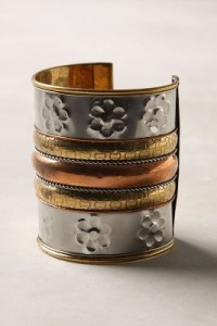 Anthropologie Olympia Cuff